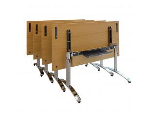 Crome Flip Top Tables