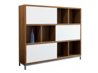 Crome Storage Display Unit