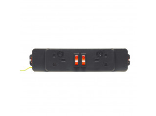 Elite 2x UK Power Socket Module