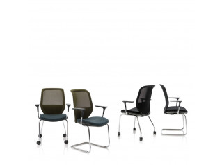 Joy Mesh Visitor Chair