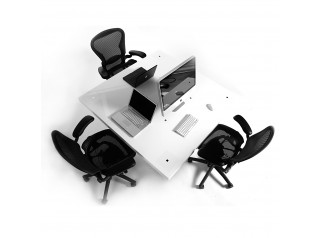 Milk Height Adjustable Desk
