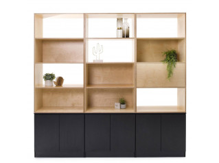 Palisades Wood Shelving