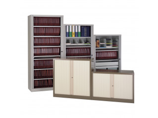 AST Side Opening Tambour Cupboards