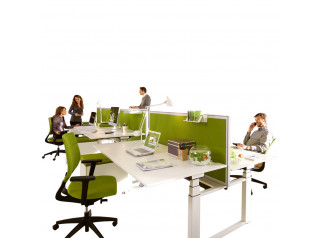 Temptation Twin Bench Desks