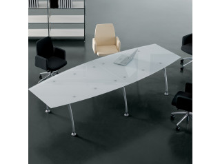 Tiper Glass Meeting Table