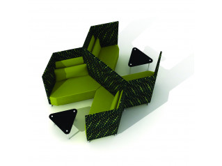 Trapeze Sofa