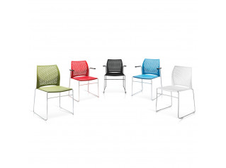 Xpresso Three Stacking Chairs