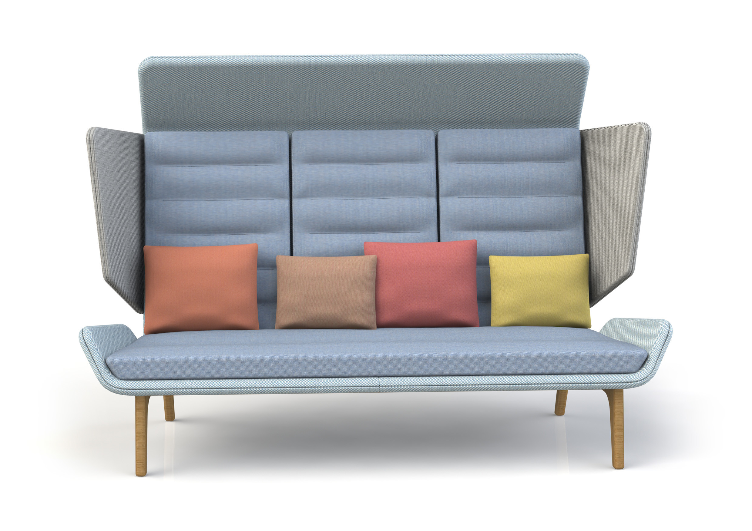Aden High Back Sofa