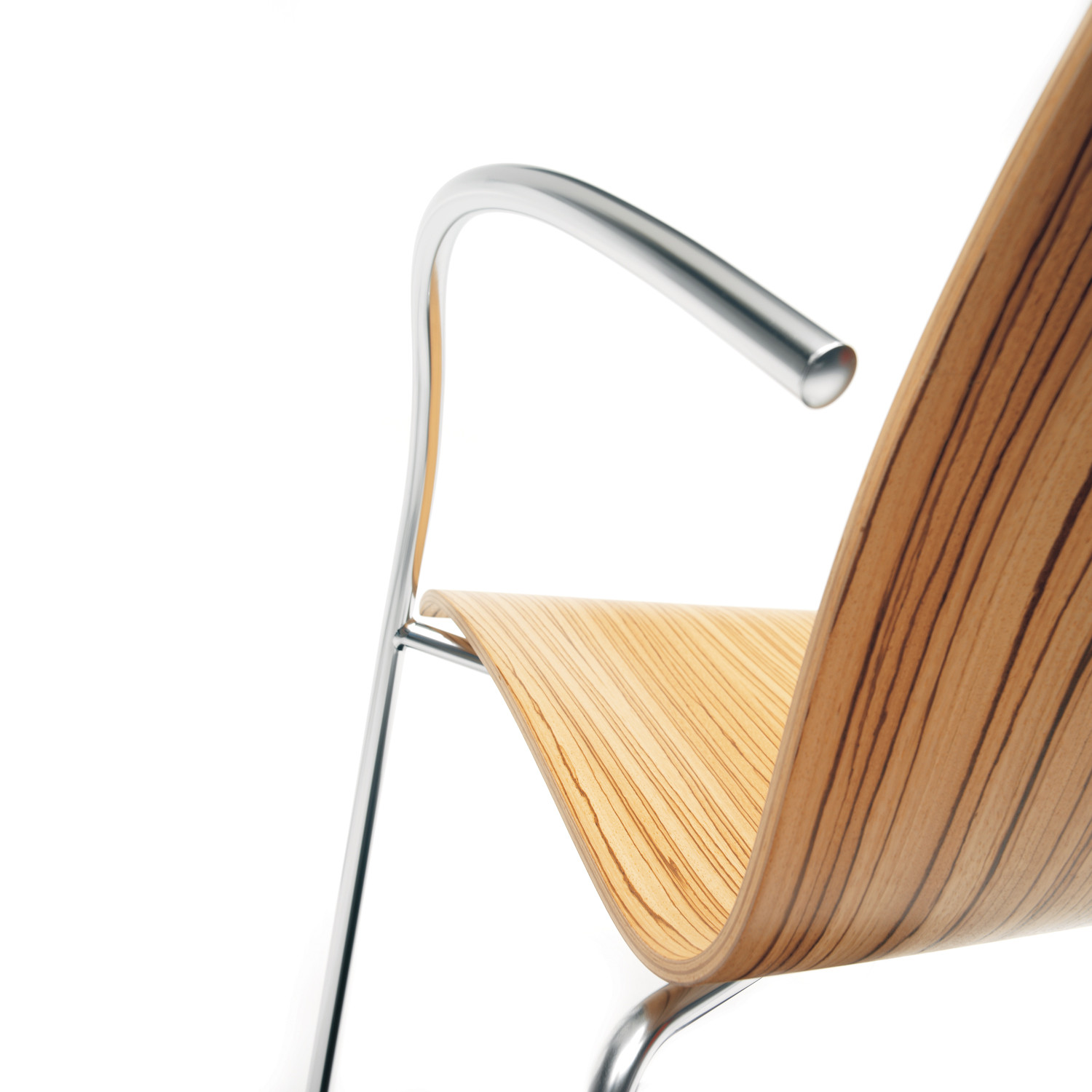 1100 Trio Chair arm detail