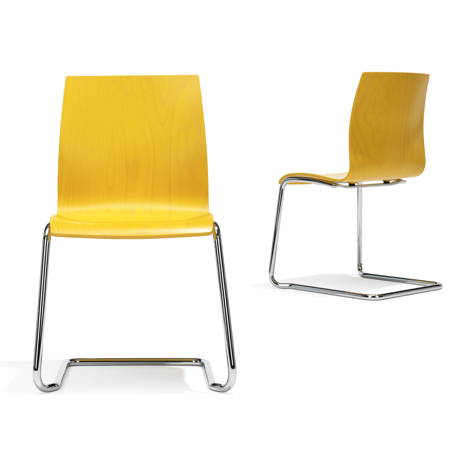 1100 Trio Cantilever Breakout Chairs