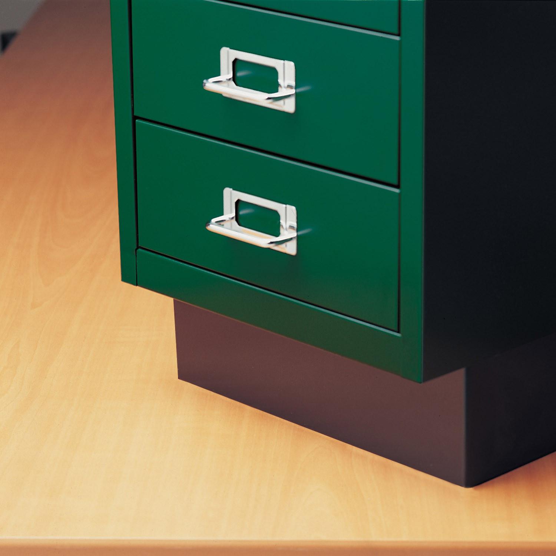 Plitn Base on 12 Series Desk Storage