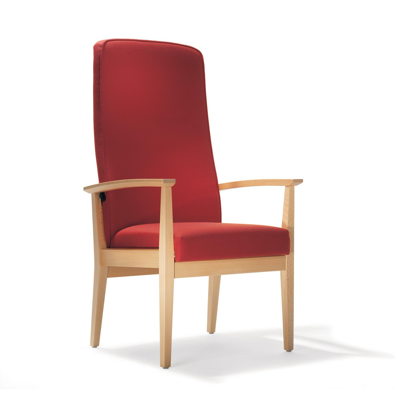 1500 Luca High Back Armchair