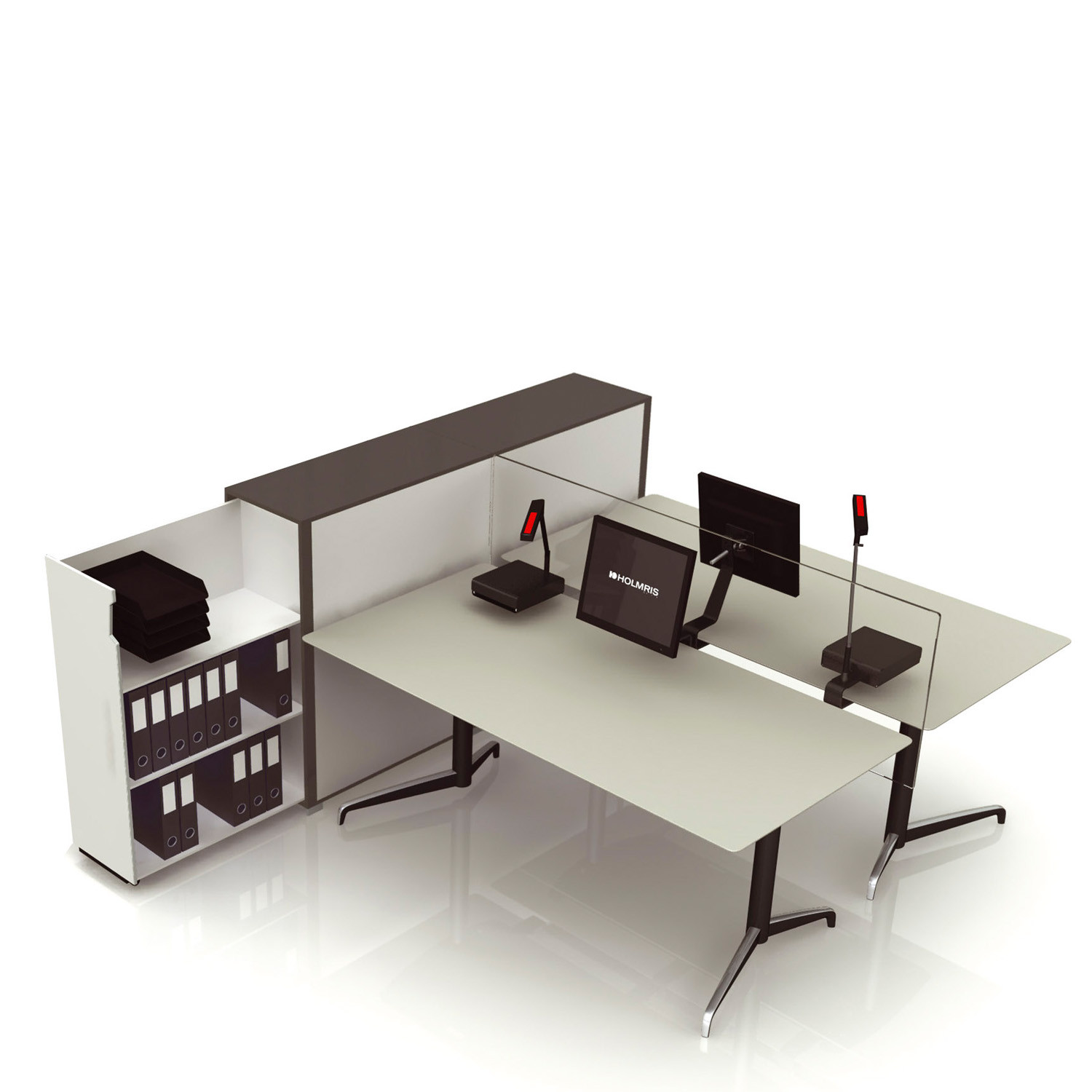 Genese Office Sit Stand Workstations