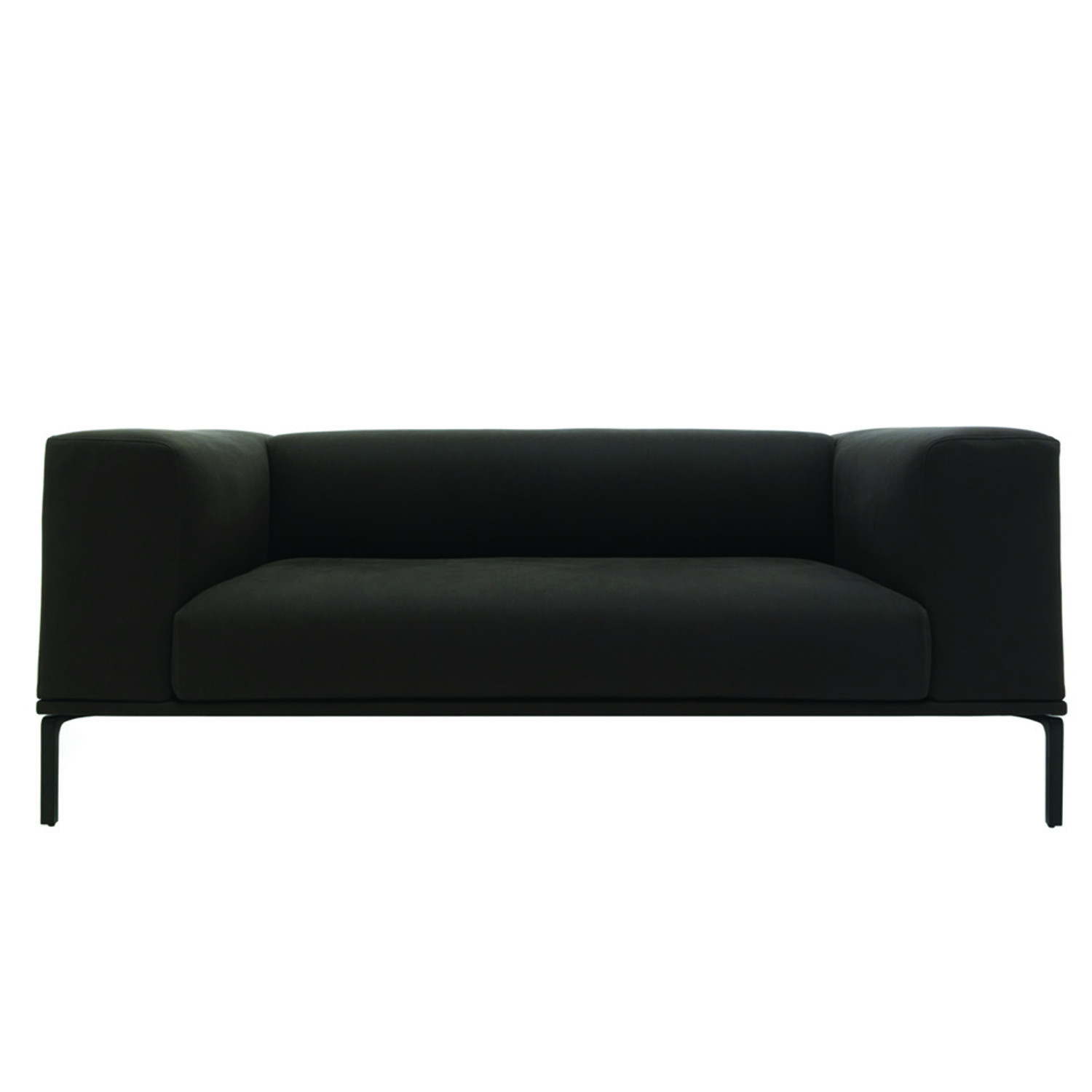 191 Moov Sofa Black Low Back