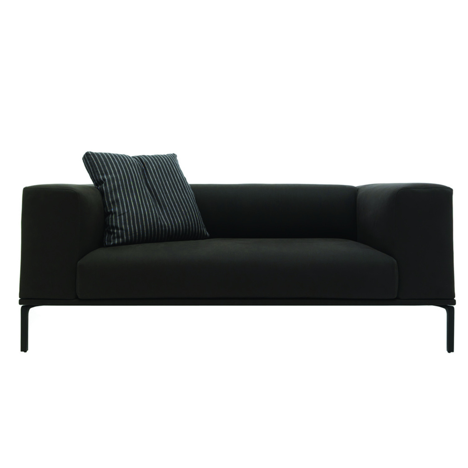 191 Moov Sofa Black One Cushion