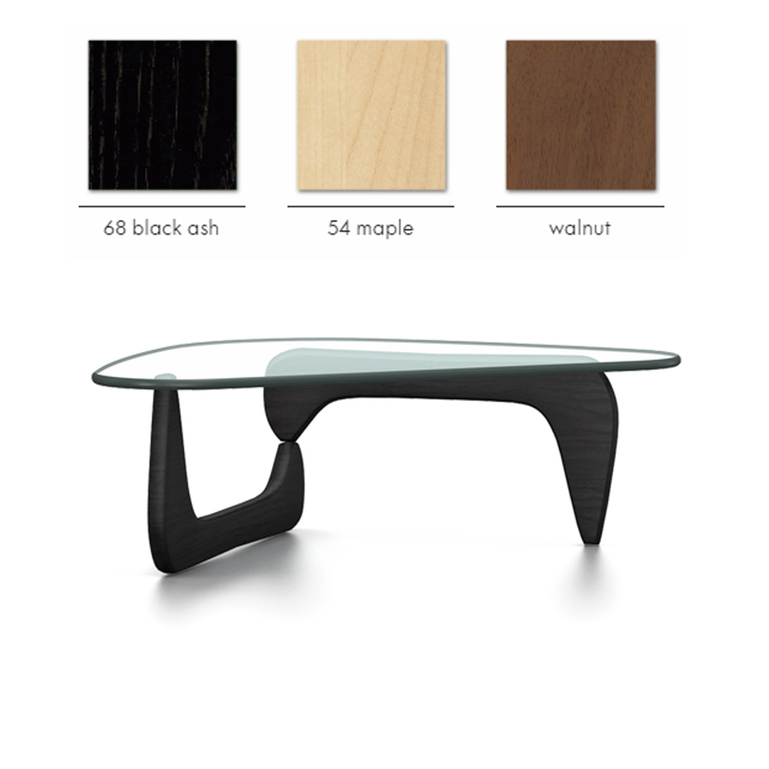 Coffee table finish options