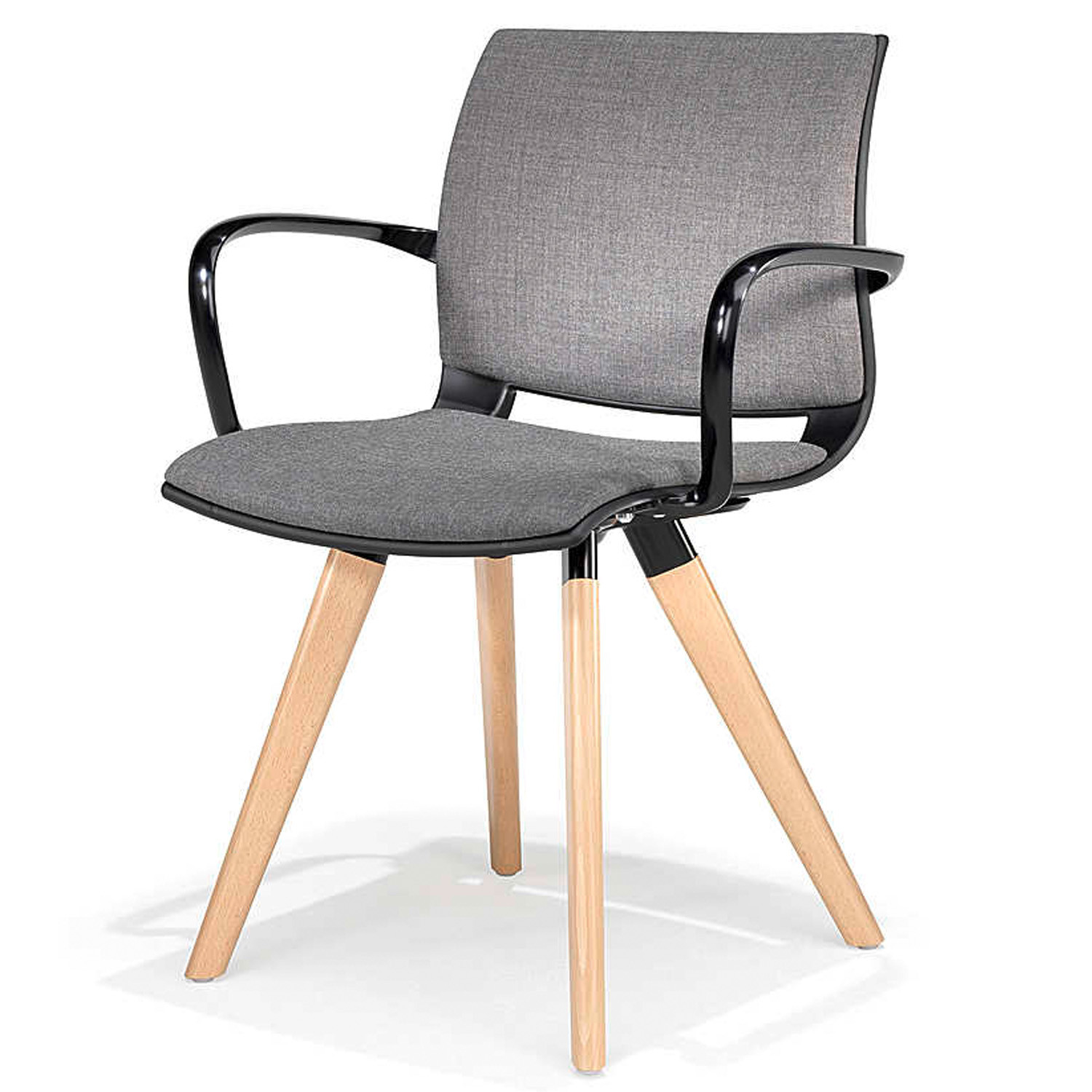 2080 Uni_Verso Armchair with padded seat and back