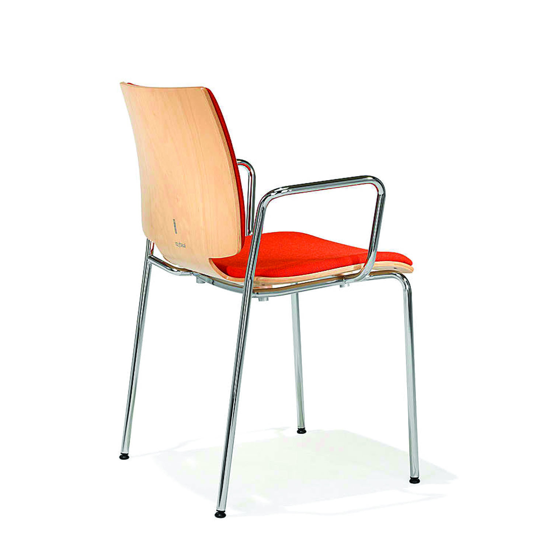 2100 Uni_Verso 4-Legged Chair