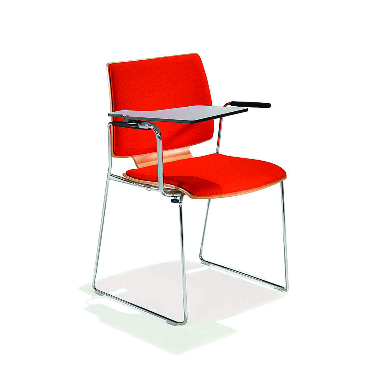 2100 Uni_Verso Chair with writing tablet