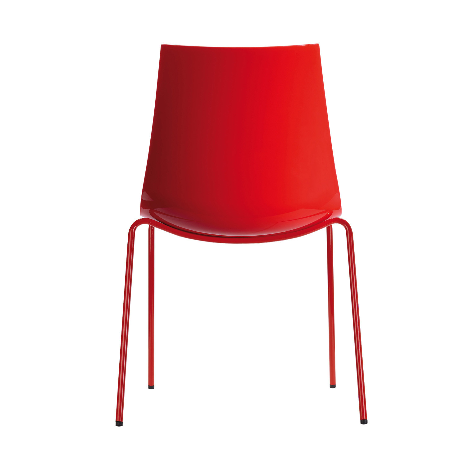 3D-Colour Cafe Chairs by Pedrali