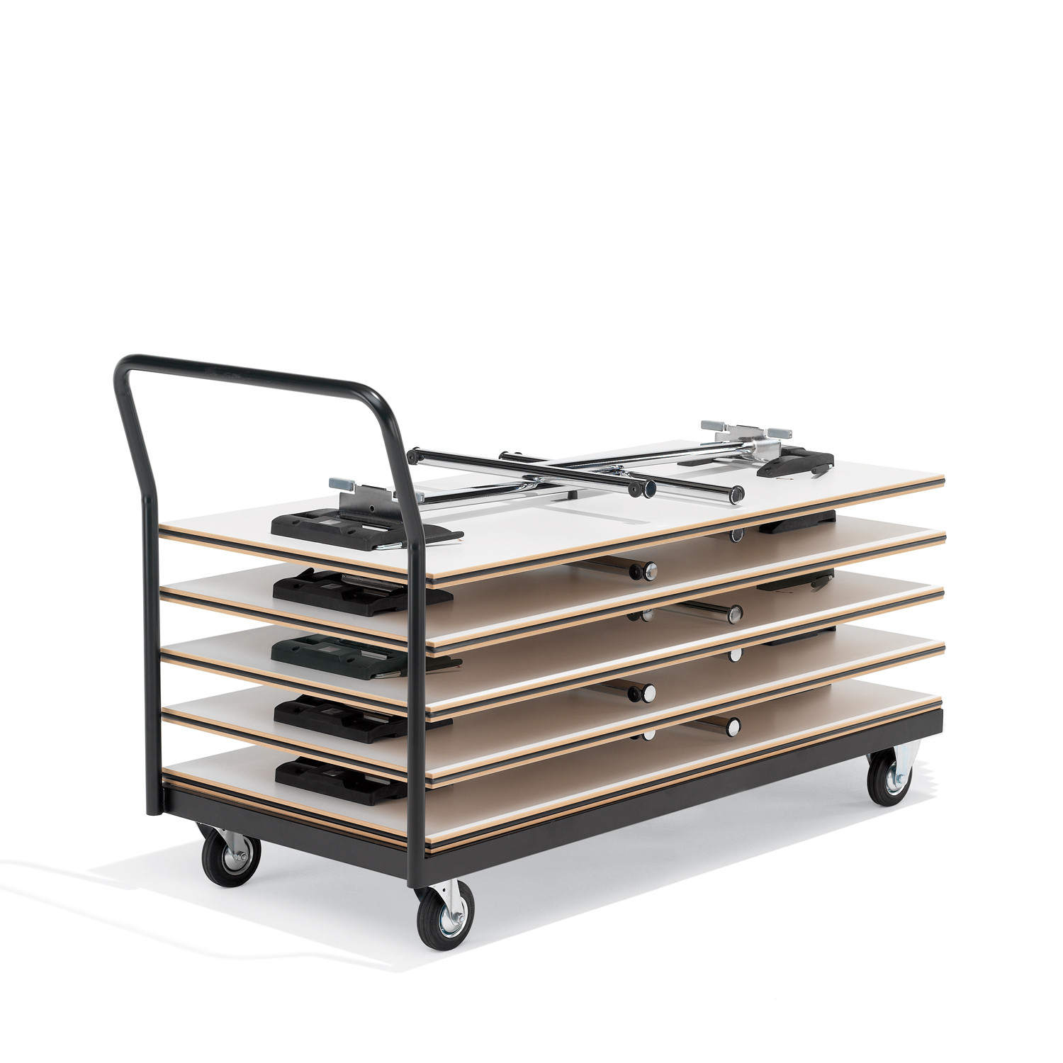 4000 Delgado Folding Tables with Trolley