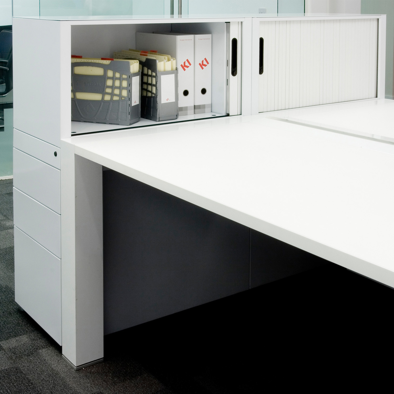 400 Series Tambour Storage by KI