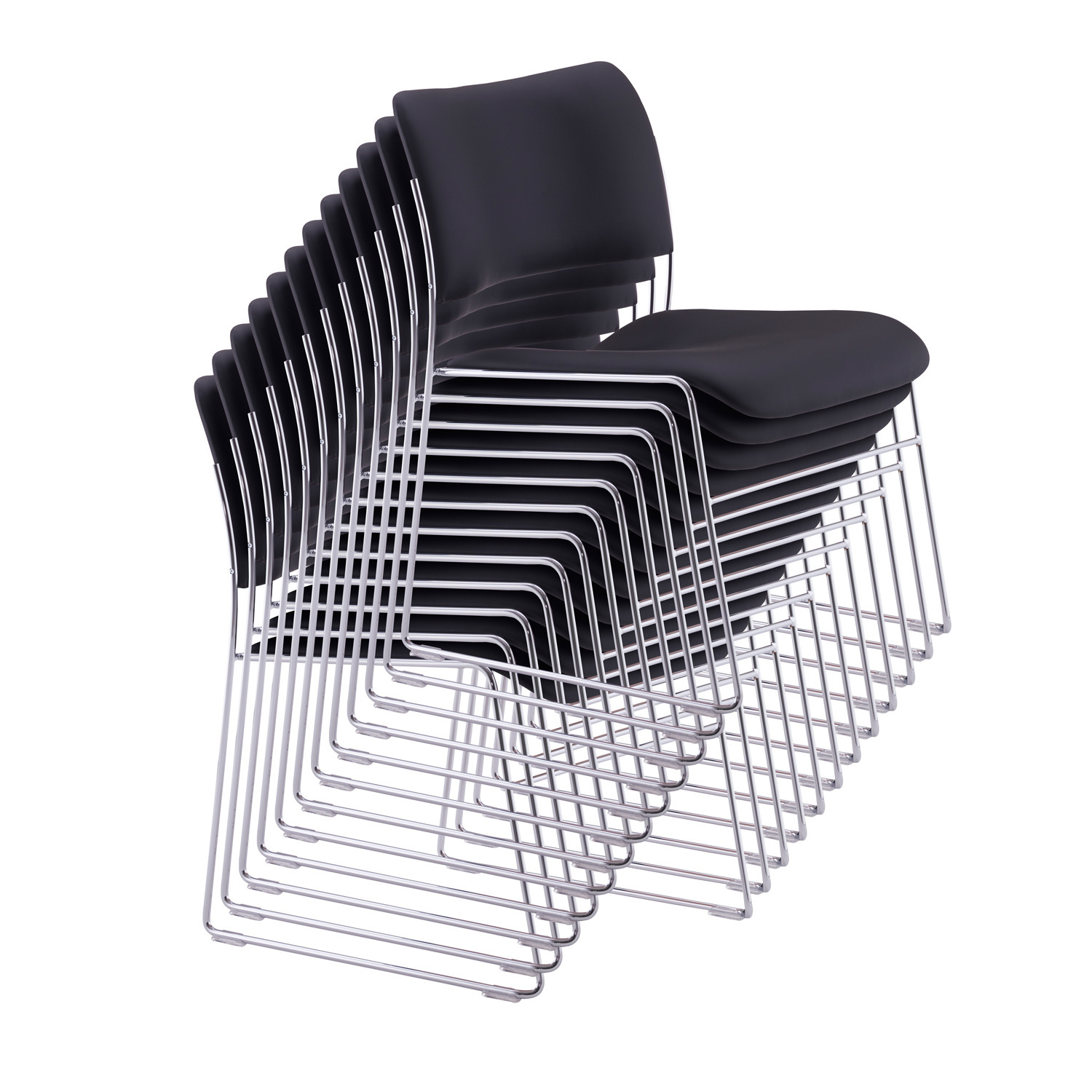 40 4 Stacking Chairs David Rowland 40 4 Seating Apres