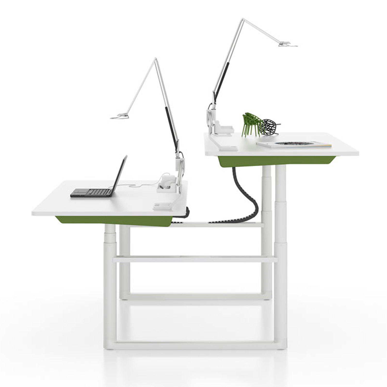 Vitra Tyde Table   Height Adjustable Sit-Stand Table   Apres Furniture - ... Vitra Tyde Adjustable Workstations; Tyde Height-Adjustable Desk