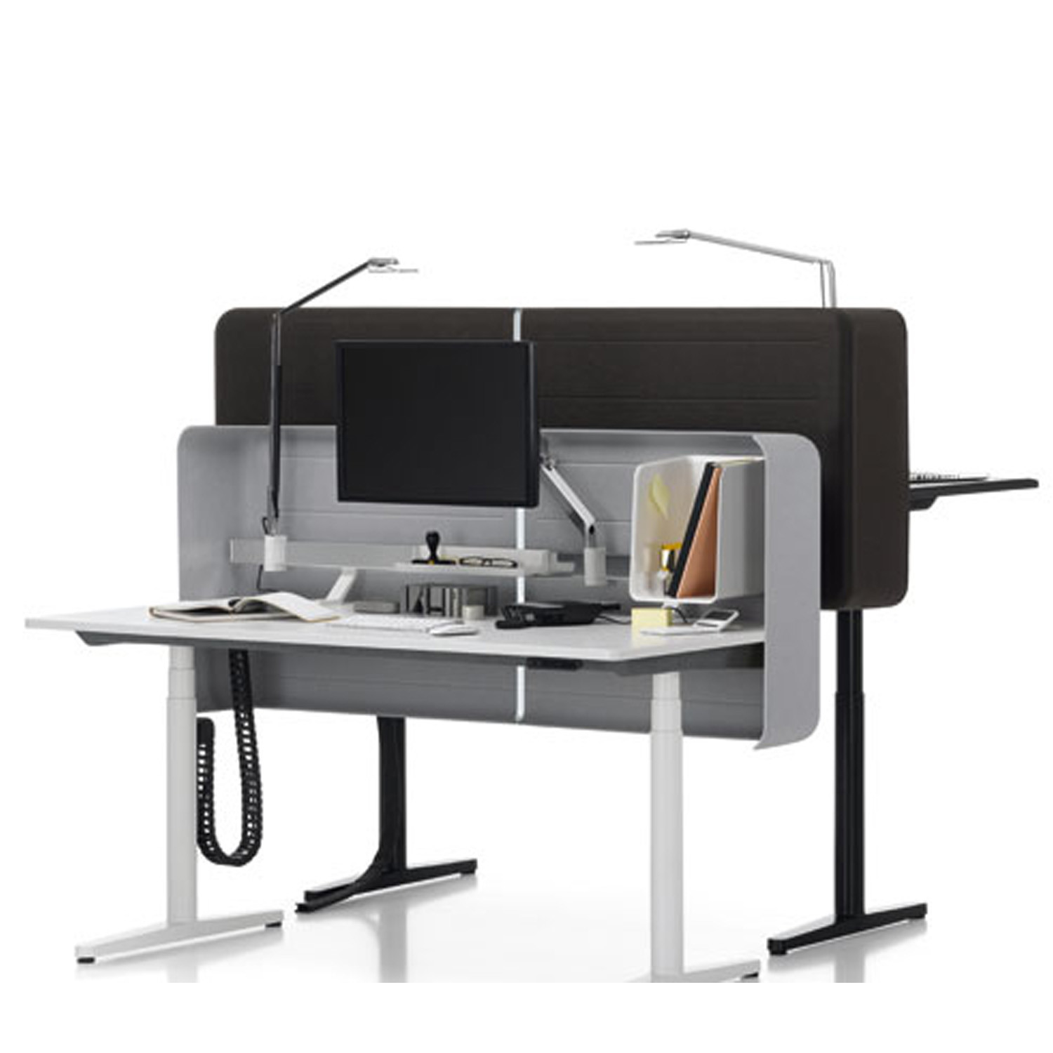 Vitra Tyde Table   Height Adjustable Sit-Stand Table   Apres Furniture - ... Vitra Tyde Sit-Stand Adjustable Desk ...