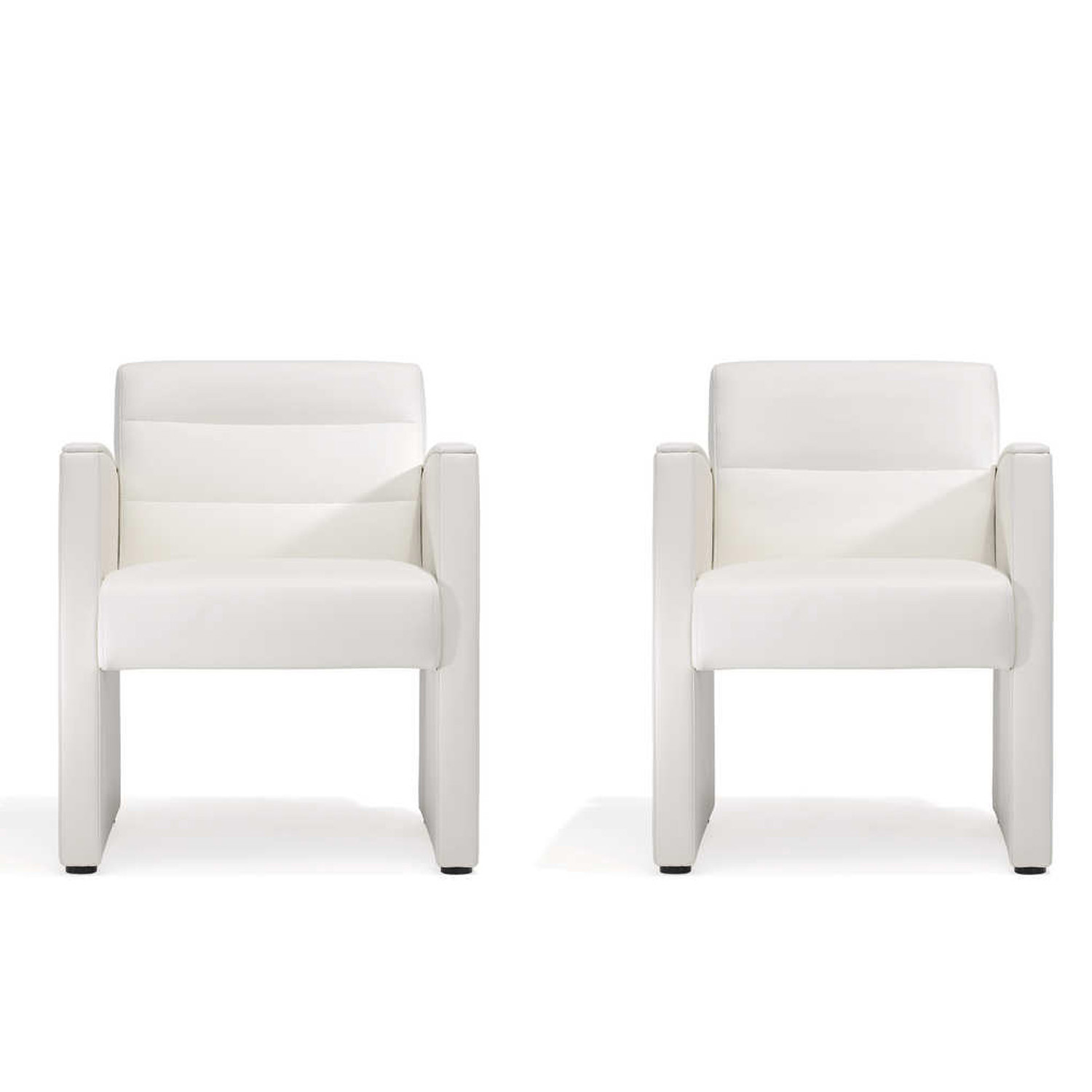 5050 Armchairs with completely upholstered side parts