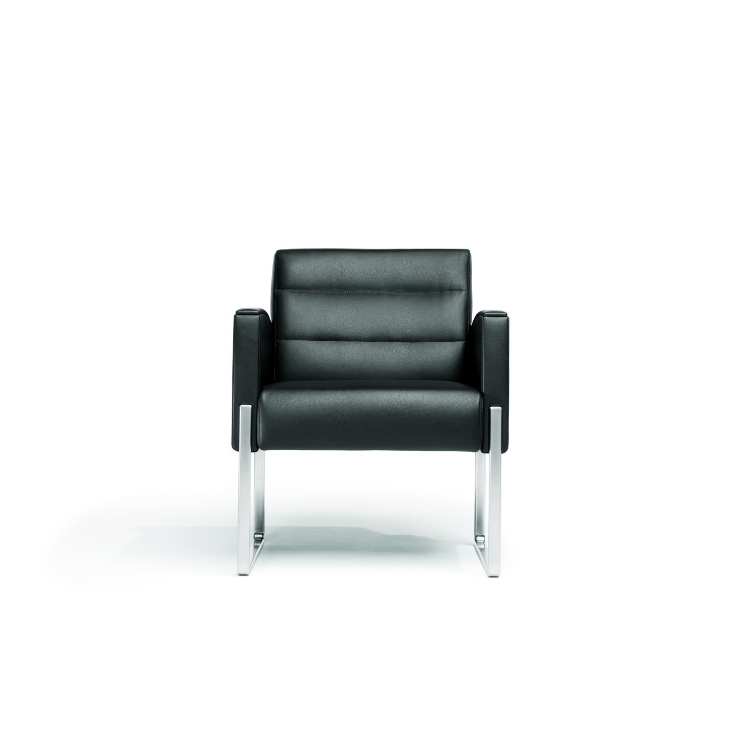 5070 Vega Armchair upholstered in leather