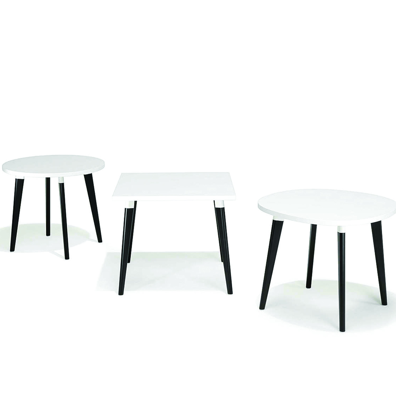 6100 San_Siro Tables are available in a variety of top shapes
