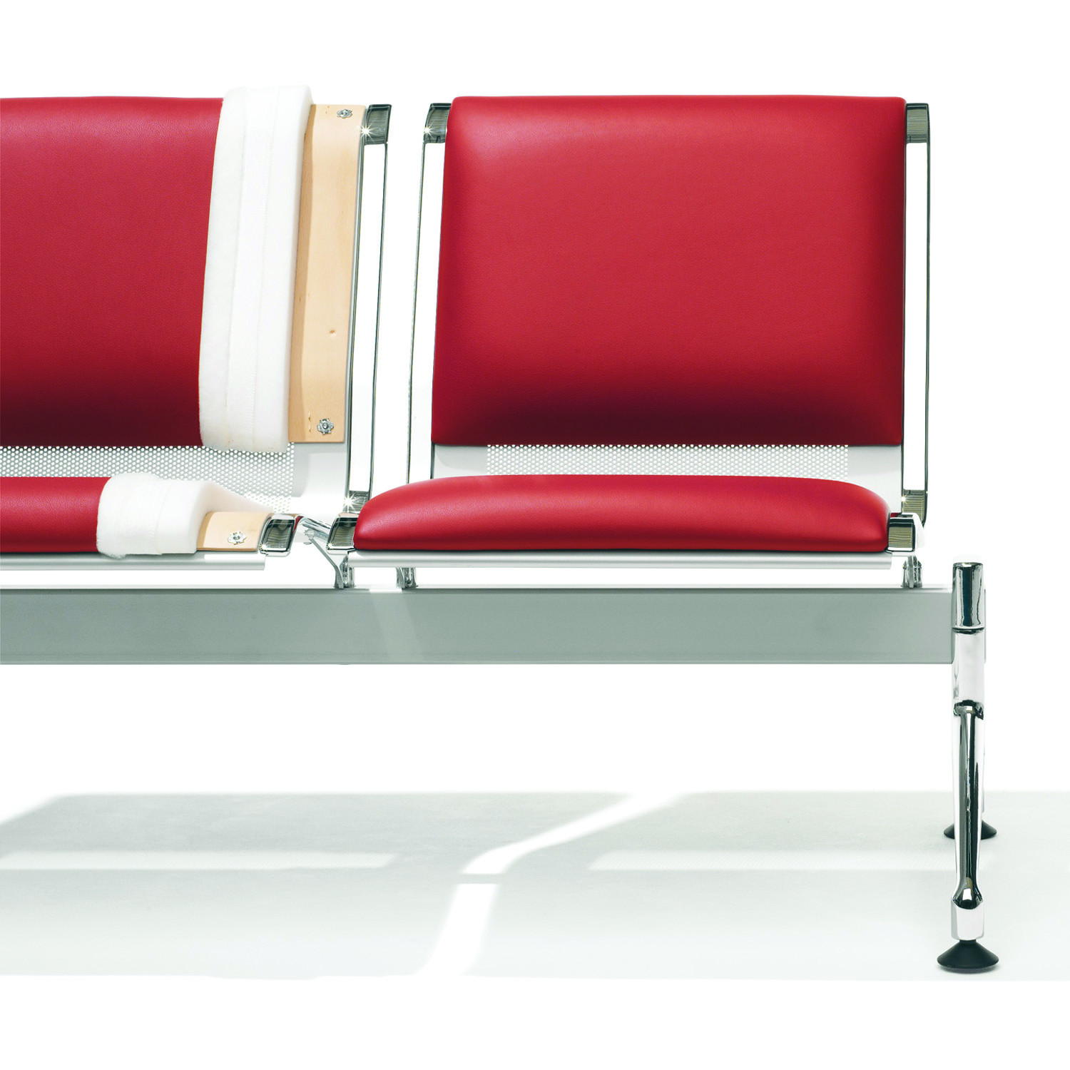 7100 Terminal Chair with fom seat pad and foam back pad