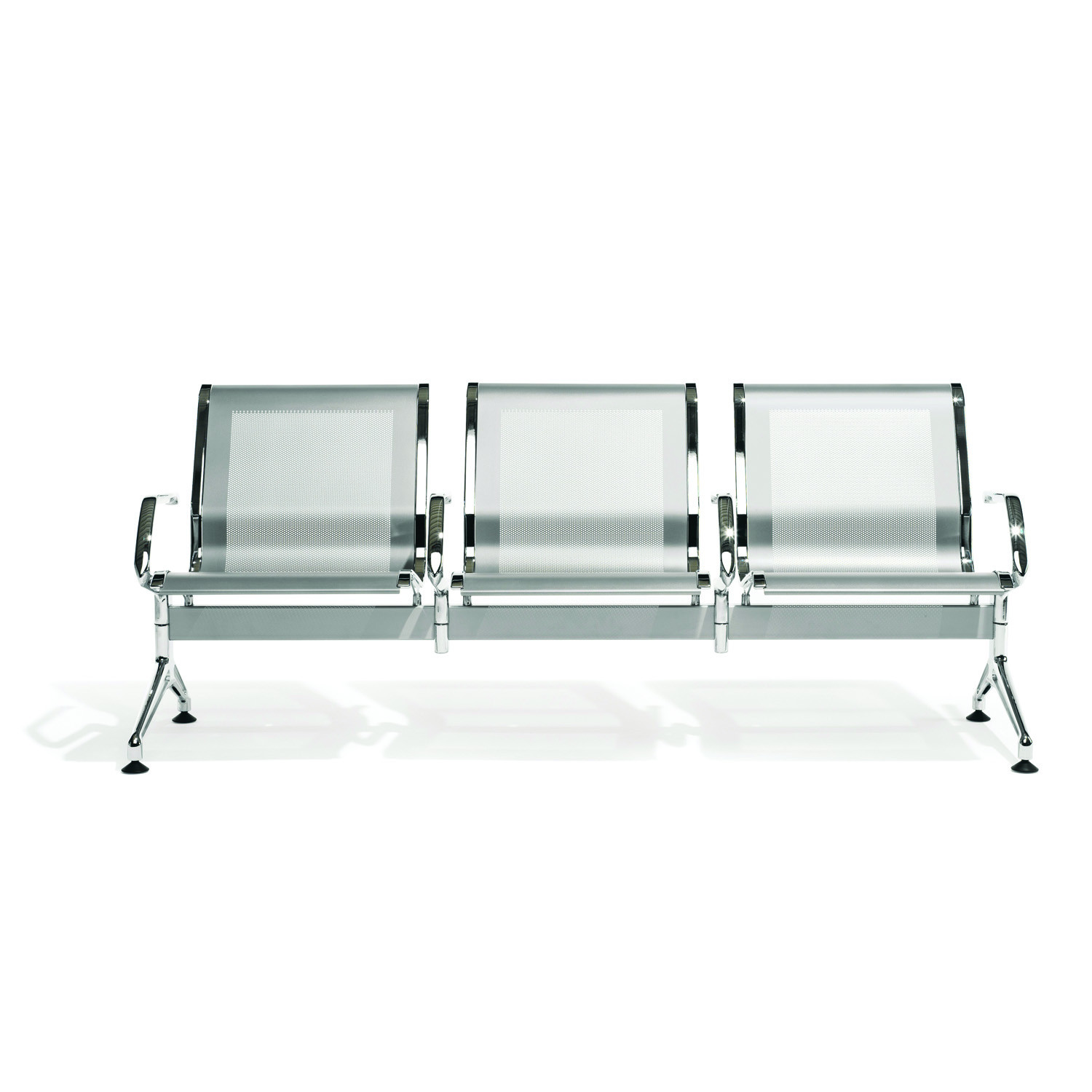 7100 Terminal Bench with steal seat and backrest