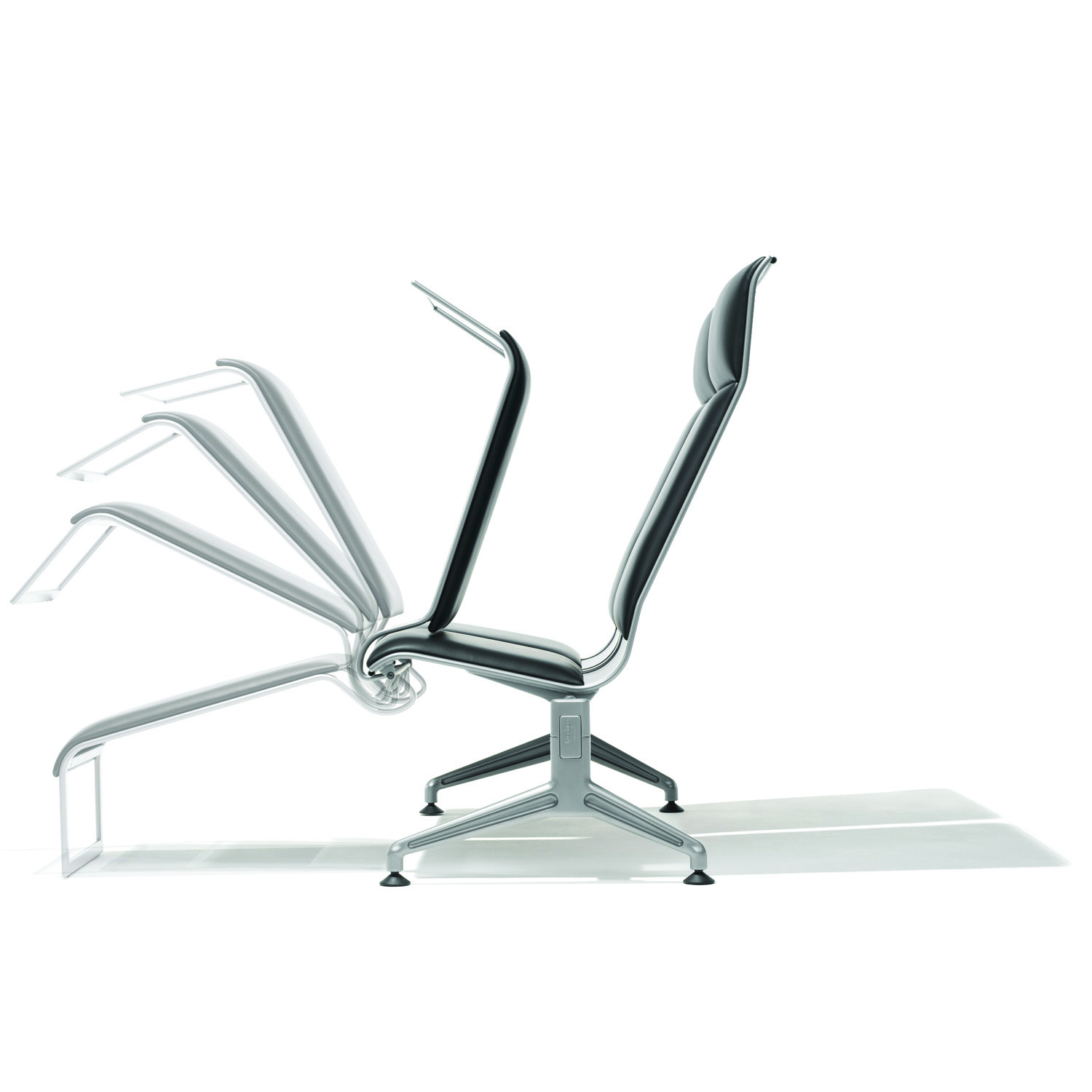7100 Terminal Chair with legs extenion