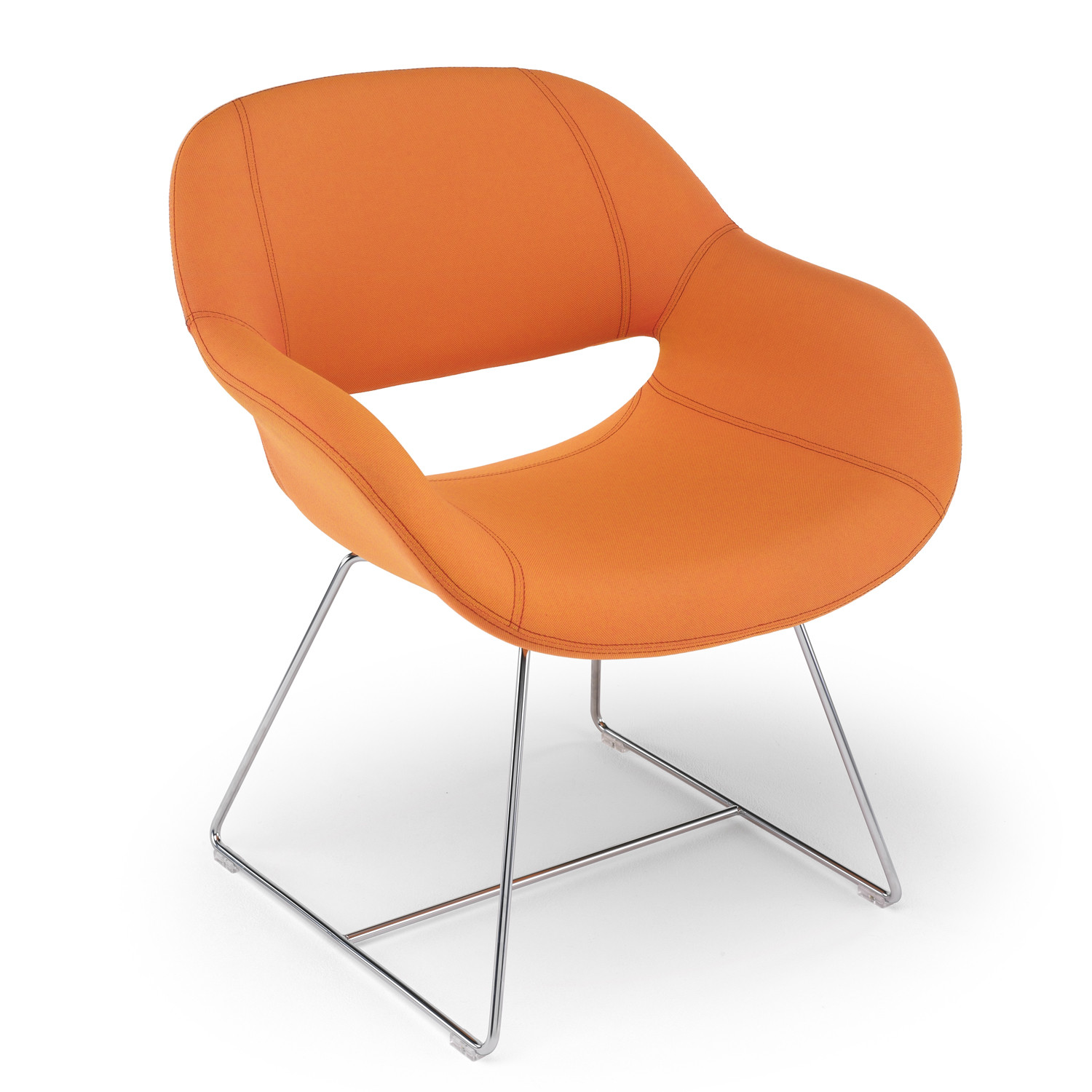 8200 Volpe Armchair with sled-base