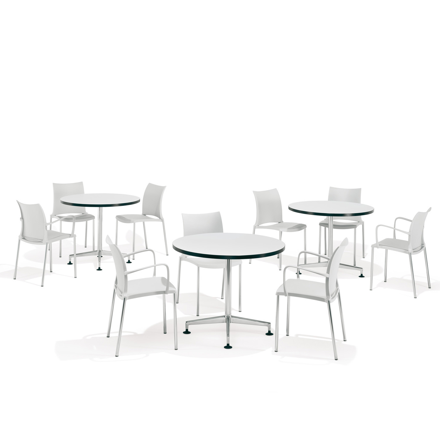 8400 Standalone Round Tables for Breakout Areas