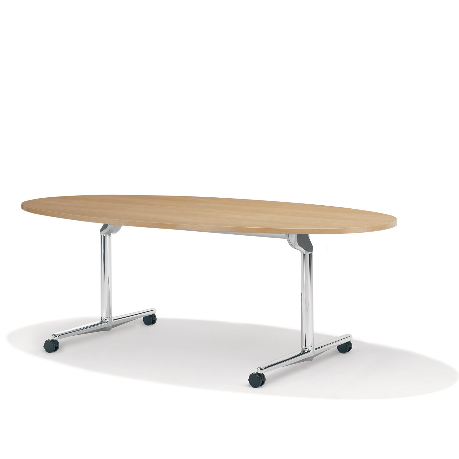 9000 Roll 'n' Meet Mobile Oval Table