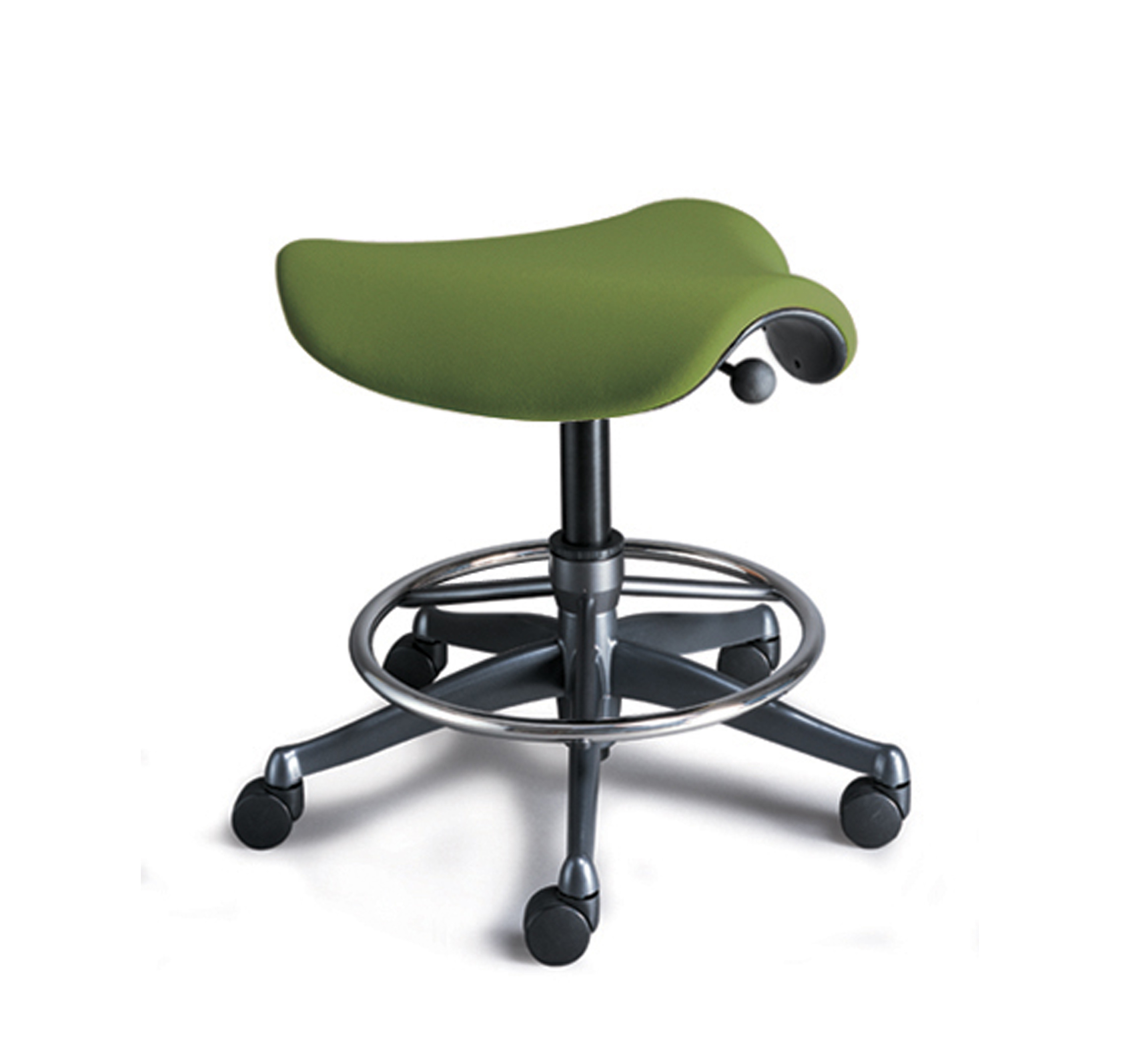 Freedom Saddle Stools by Humanscale