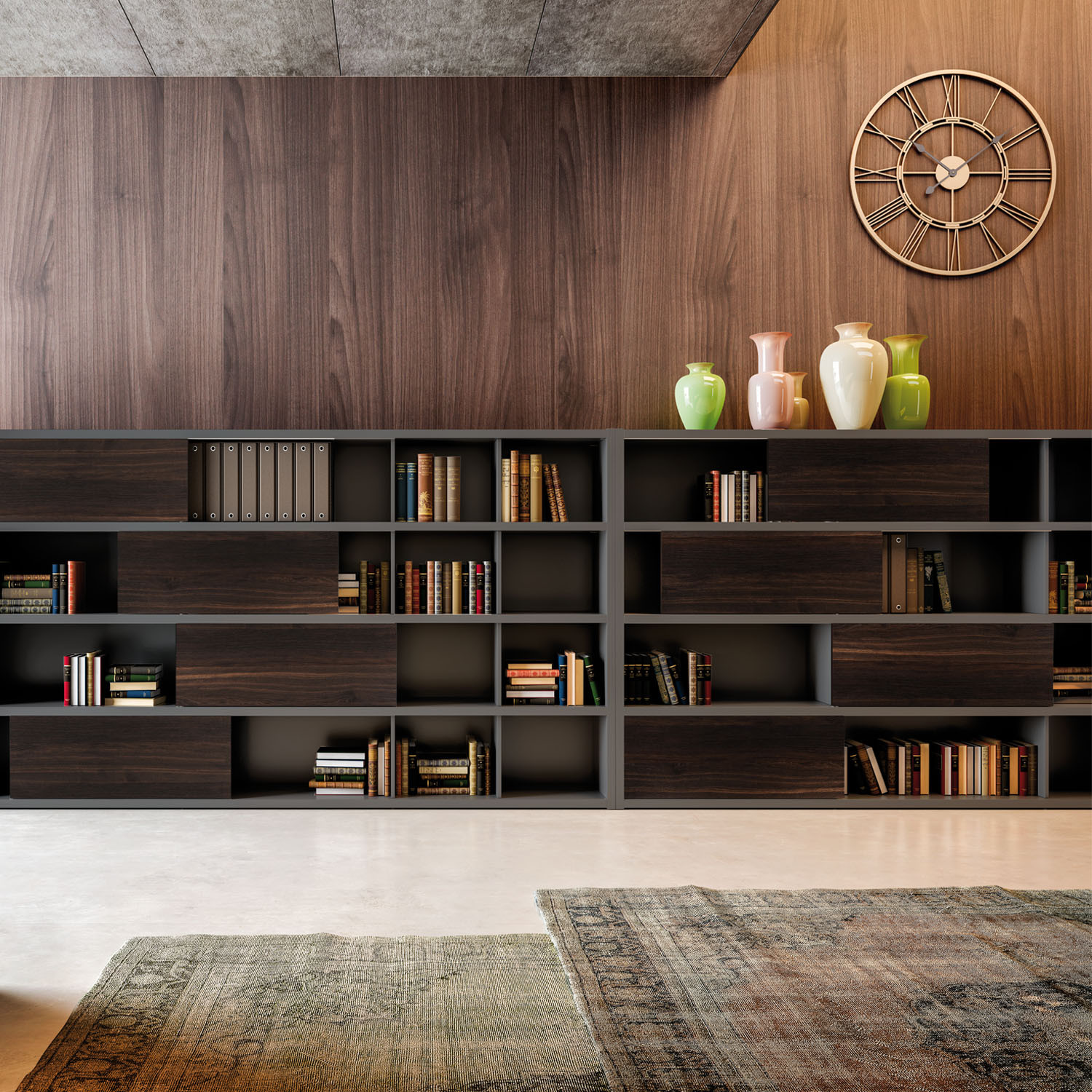 Abacus Executive Bookcase