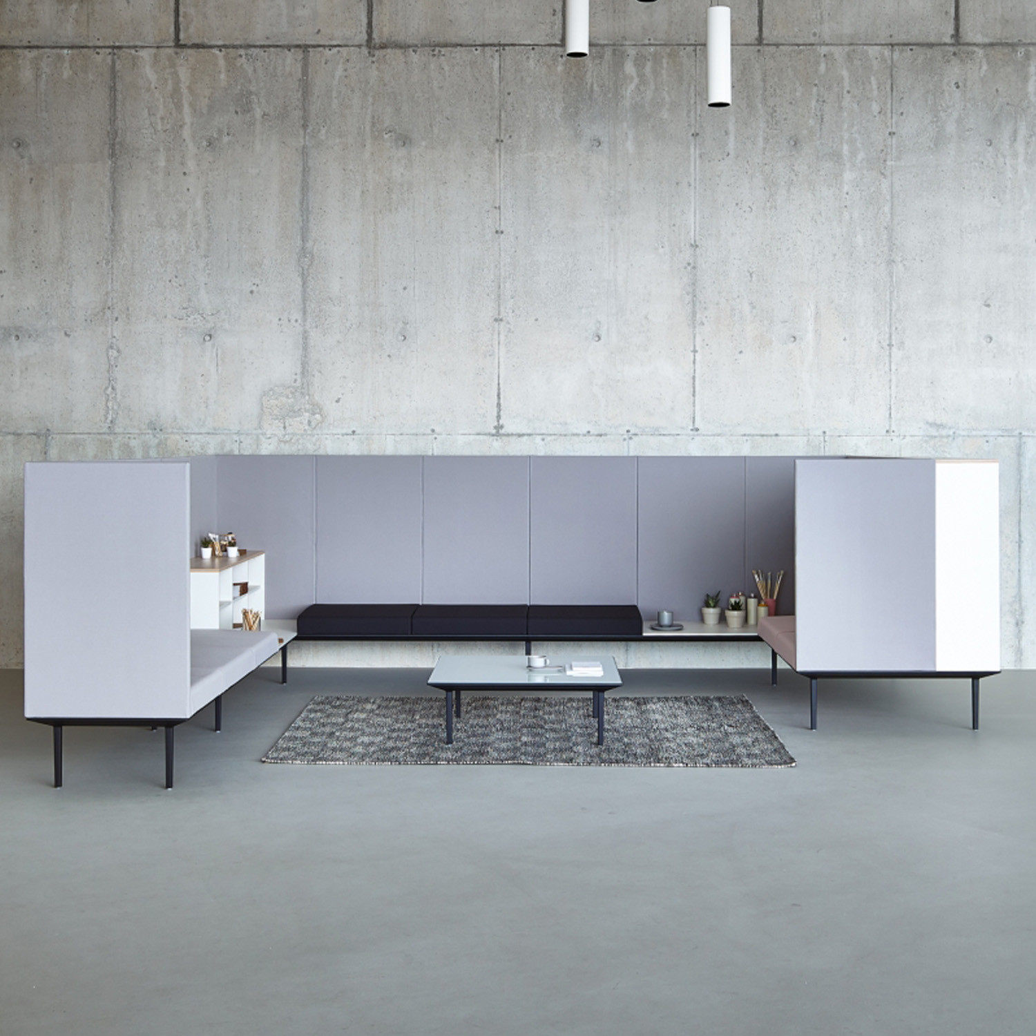 Actiu Longo Modular Office Furniture