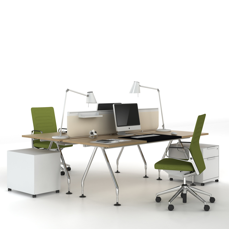 vitra ad hoc office bench desk ad hoc office desks apres furniture. Black Bedroom Furniture Sets. Home Design Ideas