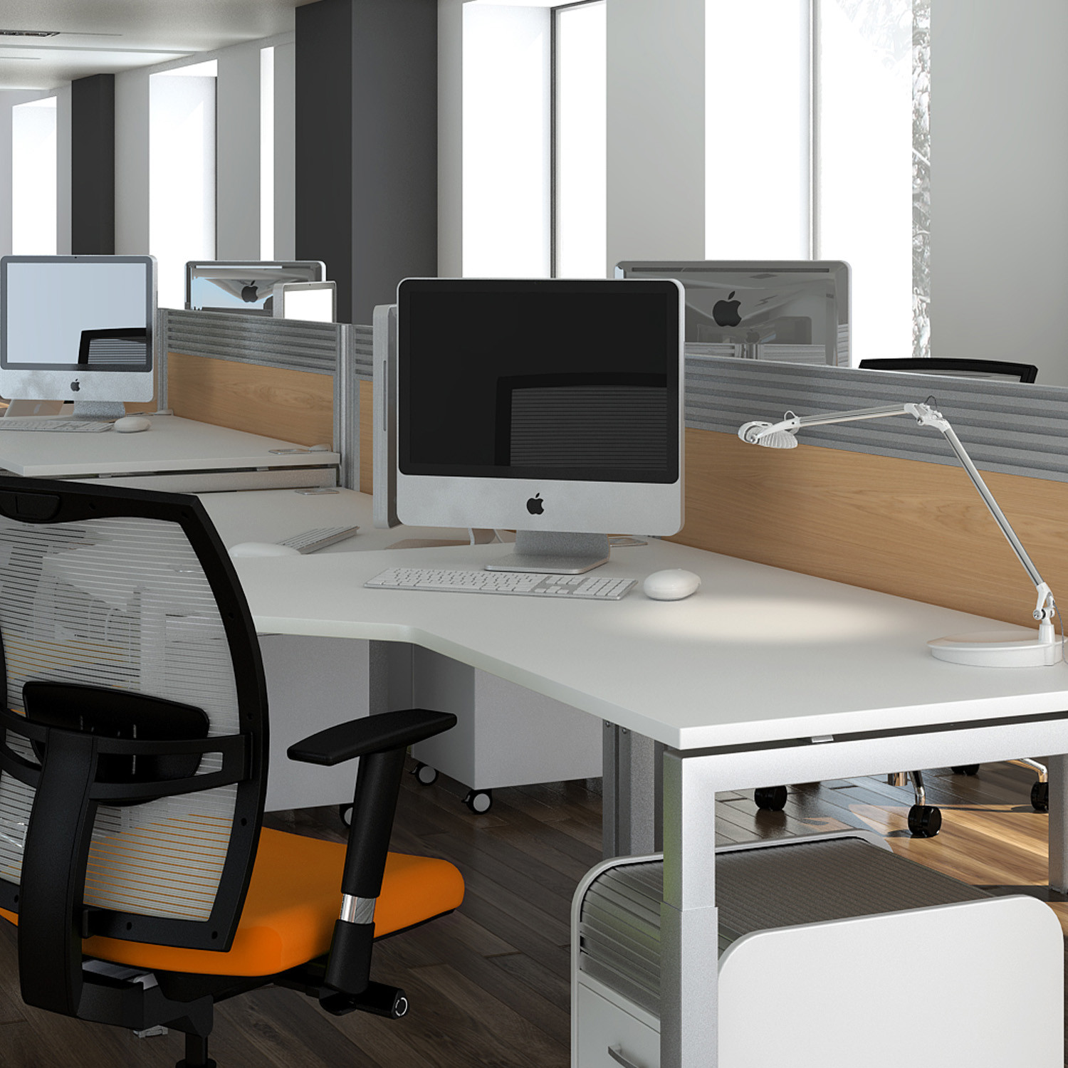 Advance Angular Desk from Elite