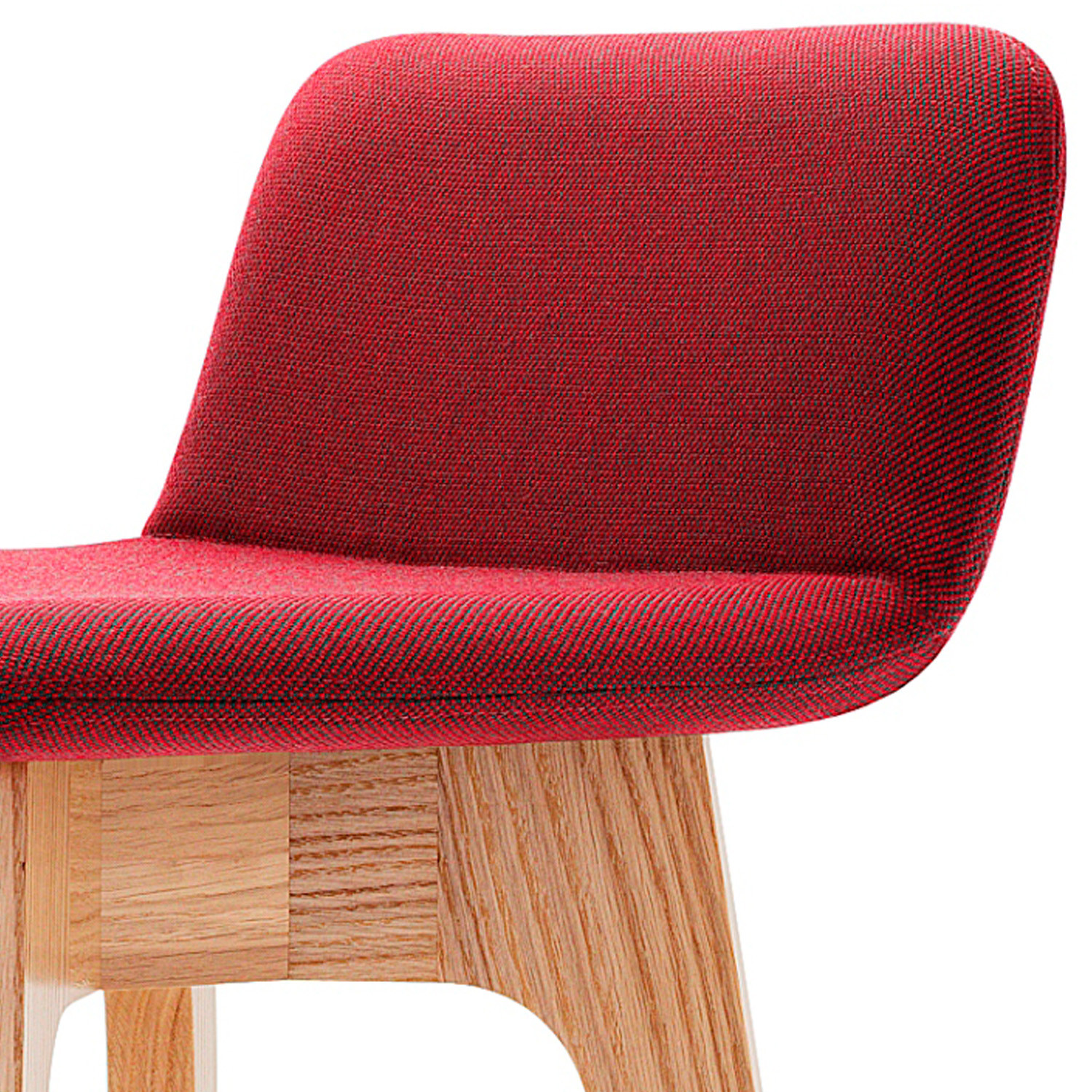 Agent Bar Stool Cushioned Back Rest