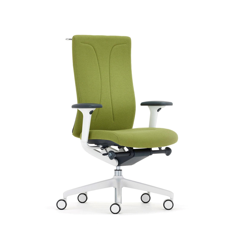 Agitus White Task Chair