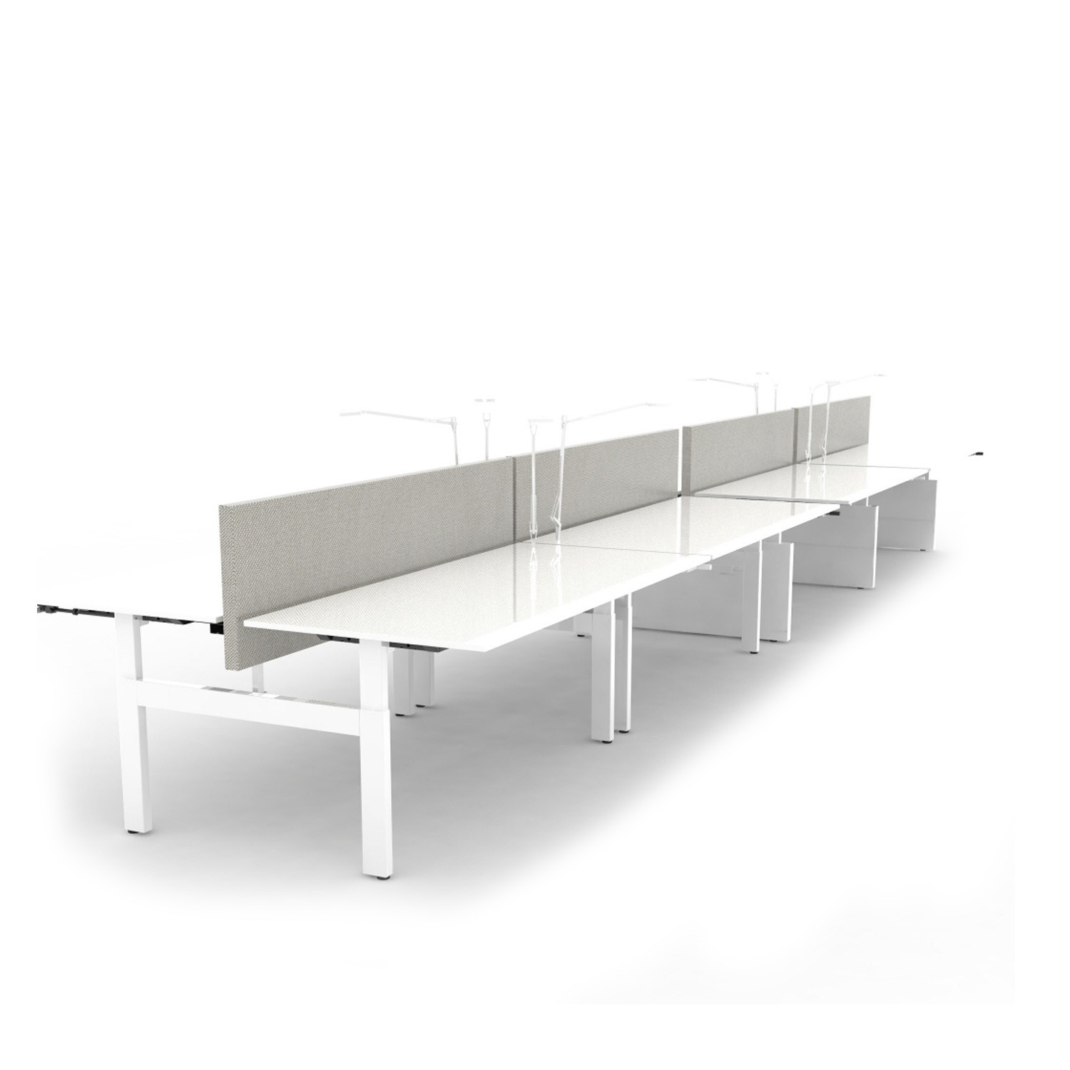 Ahrend Balance Adjustble Height Bench Desks