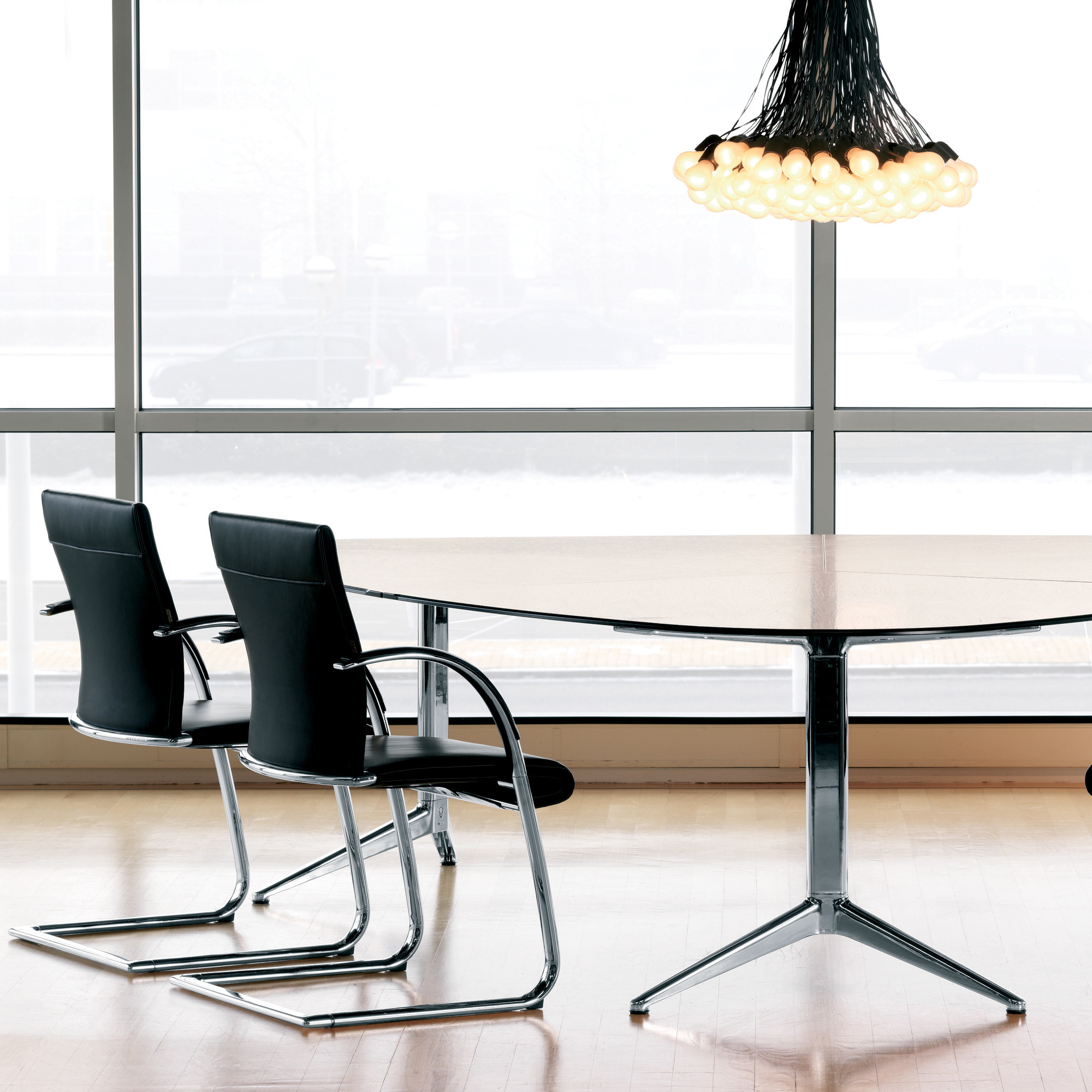 Ahrend 350 Cantilever Chairs