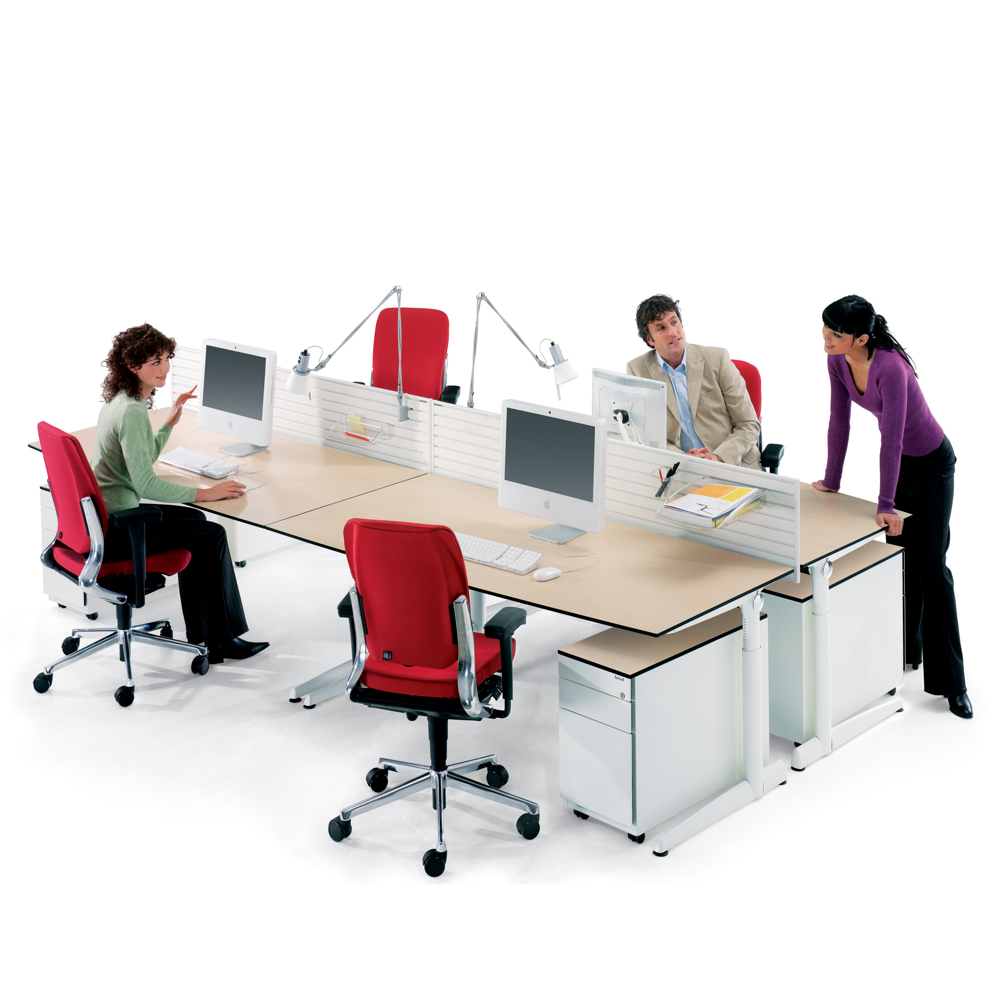 Ahrend 500 Bench Desk Systems