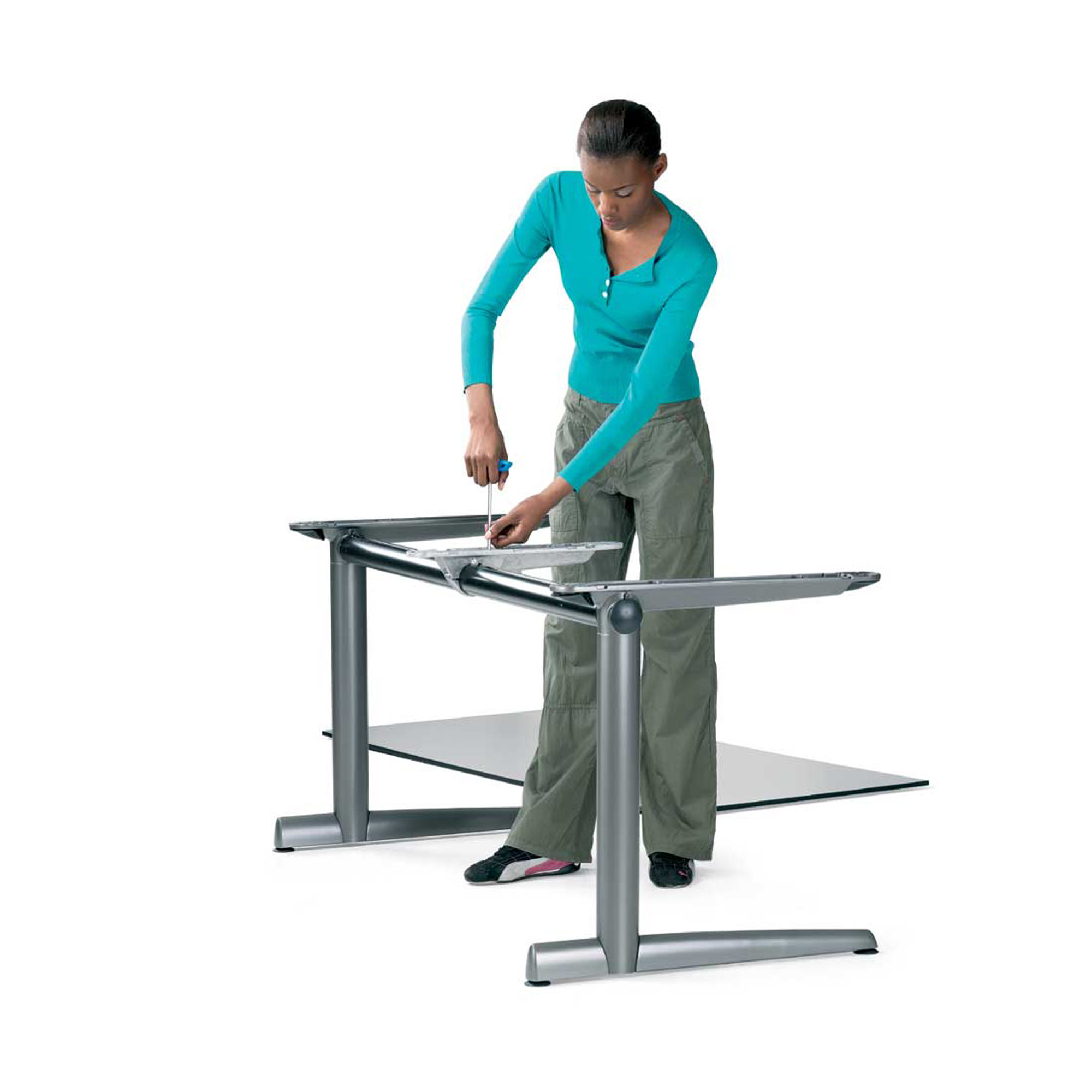 Ahrend 500 Desk Disassembly
