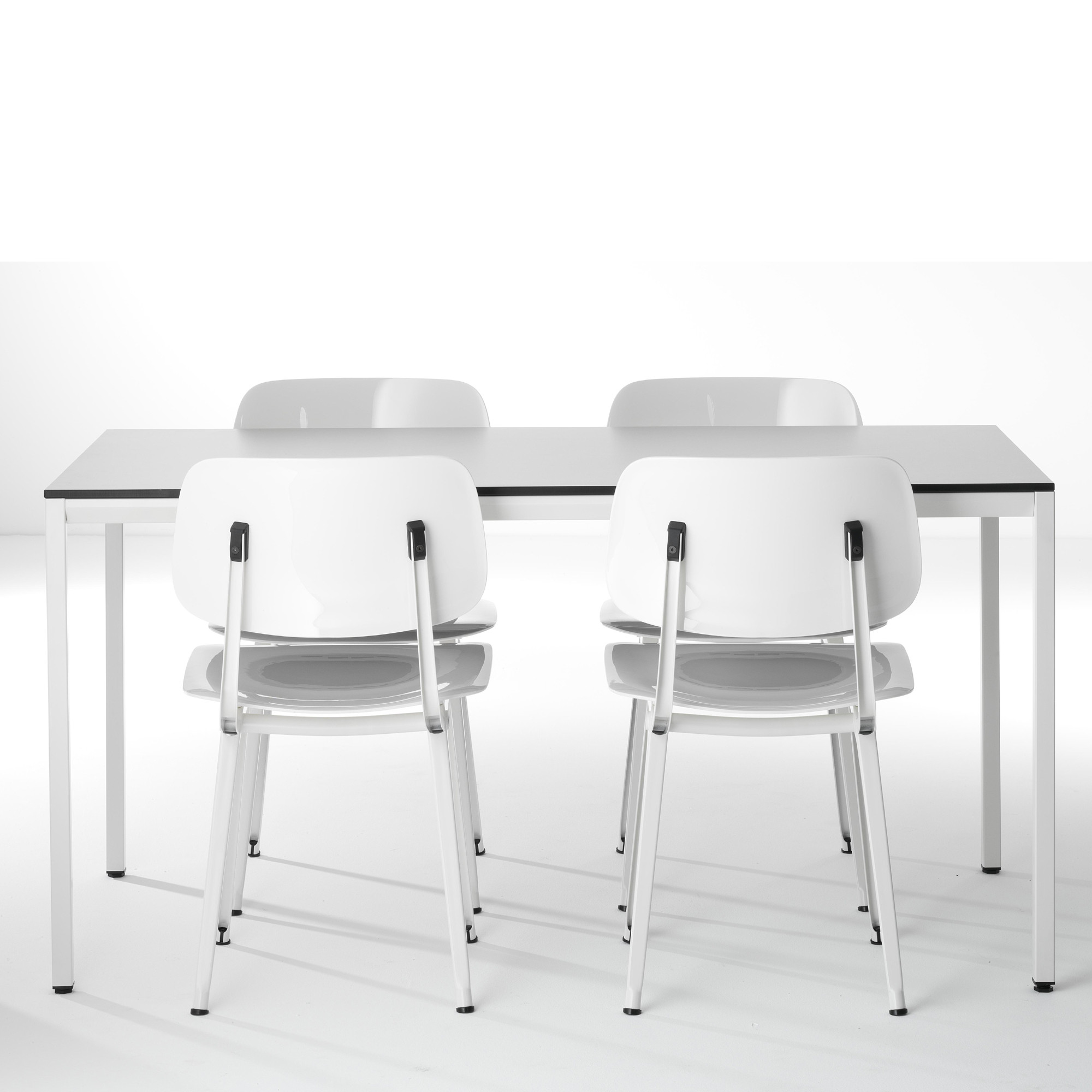 Revolt Chairs in White